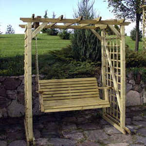 Pirol Pergola With Swing Seat
