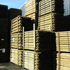 Round Fencing Stakes