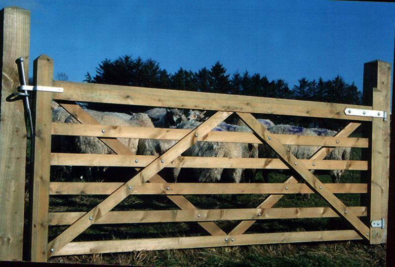 6 Bar Stud Gate