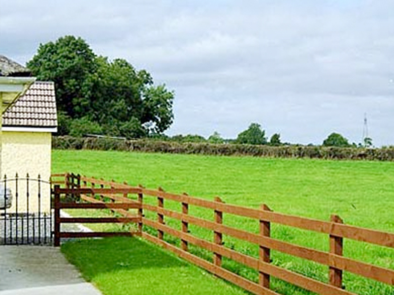 Post & Rail Timber Fencing