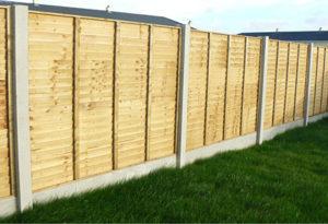 Overlap Fencing Panels