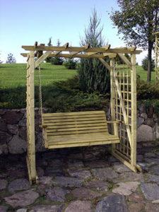 Pirol Pergola With Swing Seat