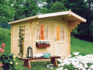 Buffalo Log Cabin