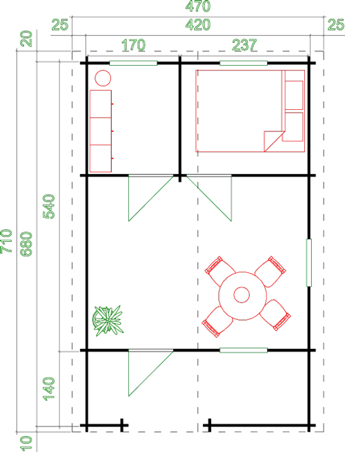 Elba Floor Plan